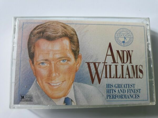 ANDY WILLIAMS: His Greatest Hits and Finest Performances - #2 Cassette Tape