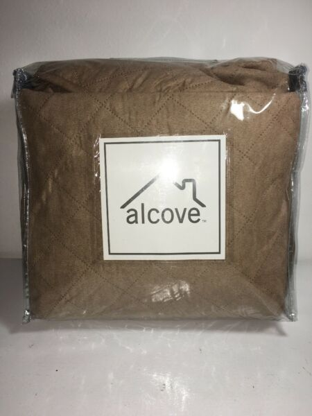 New Alcove Microsuede Sable Furniture Sofa Couch Pet Cover Fabric Protector $54.95