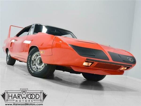 1970 Plymouth Road Runner Superbird  1970 Plymouth Road Runner Superbird  28223 Miles Tor-Red  440 cubic inch V8 3-sp