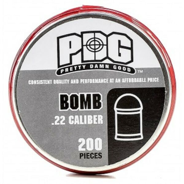 PDG 22 CAL Pretty Damn Good BOMB HEAVY 25.1 gr AIRGUN PELLETS 200 ct $13.95