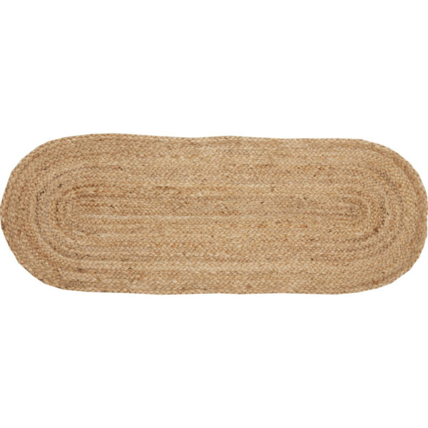 New Rustic Natural Tan Braided Jute Burlap Table Runner 36quot;