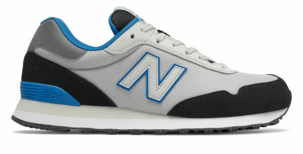 New Balance Men's 515 Shoes Grey with Blue