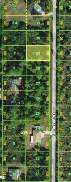 PORT CHARLOTTE Buildable Lot Warranty Deed 10000 sqf good neighbors