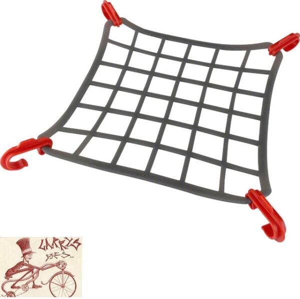 DELTA ELASTO CARGO NET FOR BIKE MOUNTED RACKS $12.99