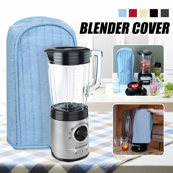 Quilted Polyester Kitchen Blender Appliance Cover Dust-proof Protection Case