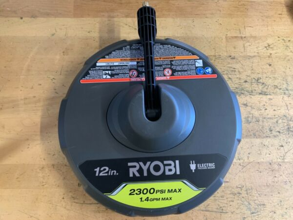 RYOBI RY31012 12 in. 2300 PSI Electric Pressure Washers Surface Cleaner - 2019