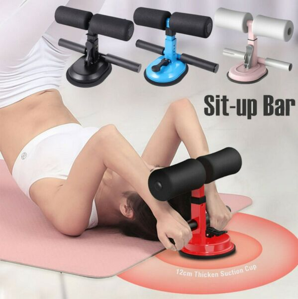 Fitness Sit Up Bar Assist Home Gym Exercise Resistance Workouts Bench Equipment