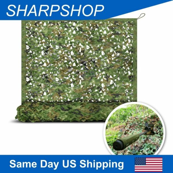 Woodland Military Camo Netting Camouflage Mesh Netting for Hunting Camping