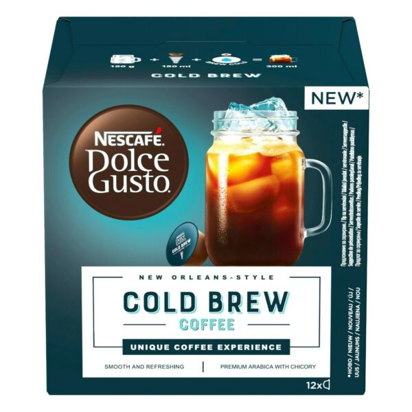 NESCAFE Dolce Gusto COLD BREW 12 capsules FREE Shipping