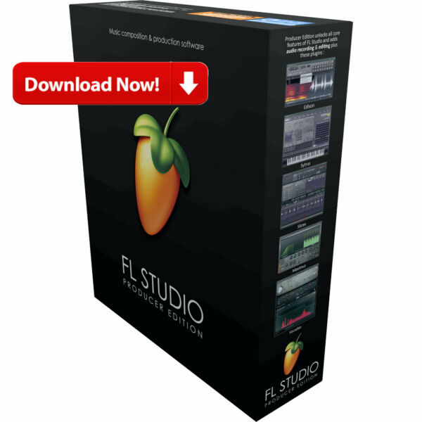 Image Line FL Studio 20 Producer Edition Sequencing Software MacPC - Download