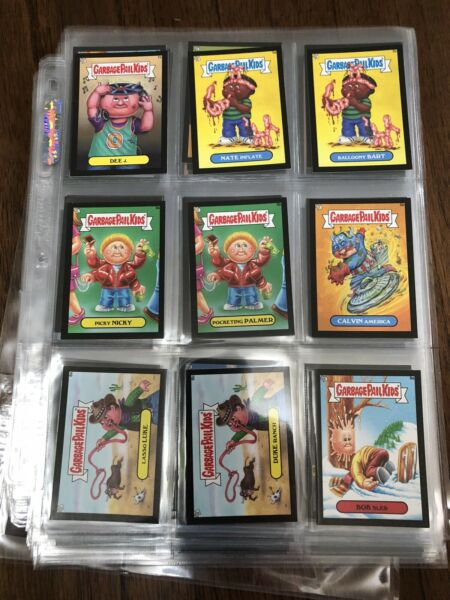 Garbage Pail Kids 2013 Mini Black Border Partial Set 95396