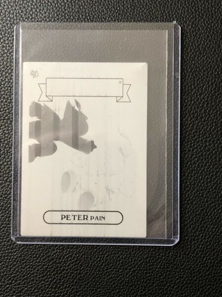 2013 Garbage Pail Kids Mini Series Black Printing Plate GPK 92a Peter Pain