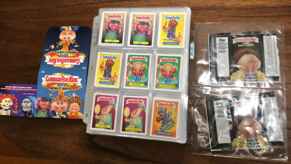 Garbage pail kids 2013 Mini Card Set with Bonus Cards Empty box