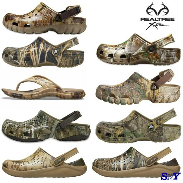 CROCS Classic REALTREE Camo Clog LightWeight Breathable Water Friendly