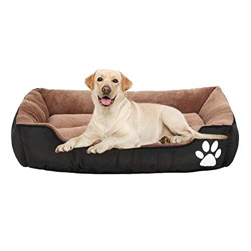 Pet Bed-32247.2 Inches Orthopedic Memory Foam Dog Bed Ideal for SmallMedium