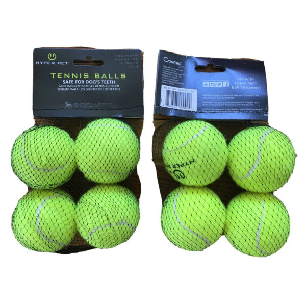 Lot of (2) Hyper Pet Mini Tennis Balls for Dogs Pet Safe Dog Toys for Exercise $10.99
