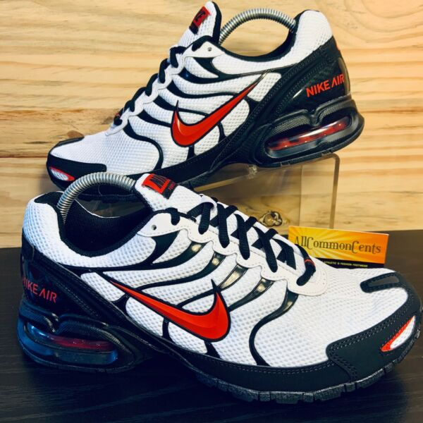 Nike Air Max Torch 4 Men's Running Shoes Size 8.5 Shock Red White NEW IN BOX