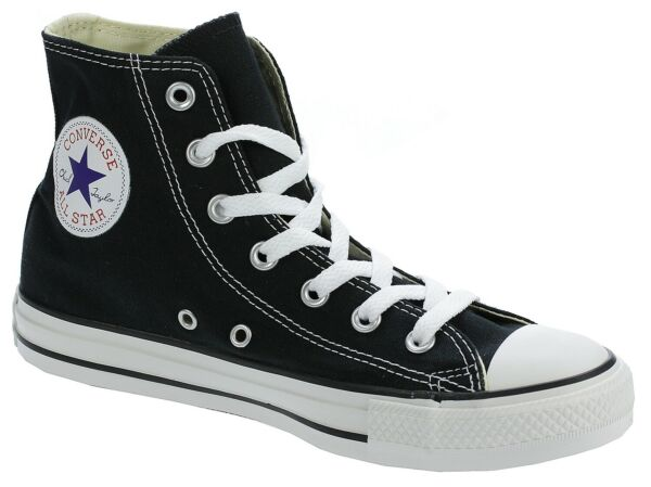 No Box Brand New Converse M9160 Black/White HI-Top Chuck Taylor Shoes