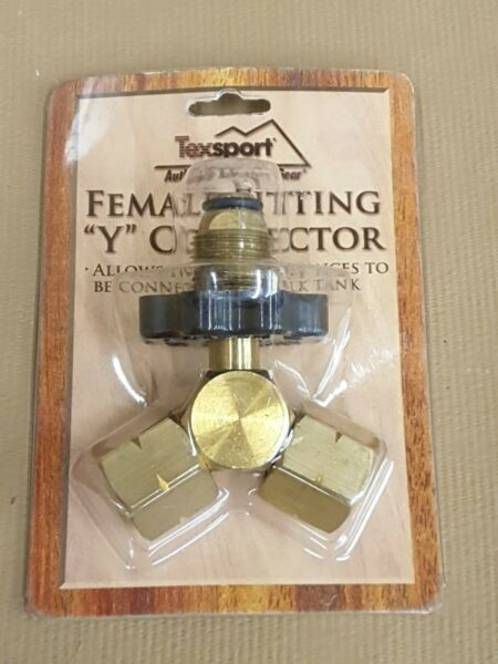 female fitting Y connector tank propane $25.00