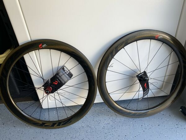 NEW NIB Zipp 404 FIRESTRIKE Carbon Clincher ShimanoSRAM 11 Speed Wheelset GOLD