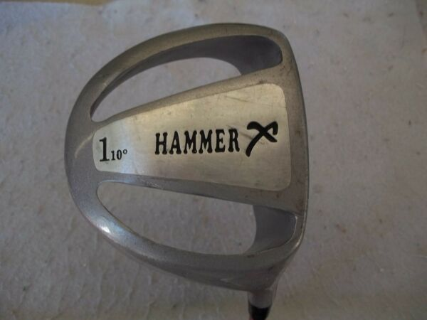 NICE THE HAMMER 10* DRIVER BY X-FACTOR AEROSPEED SMARTSHAFT 46