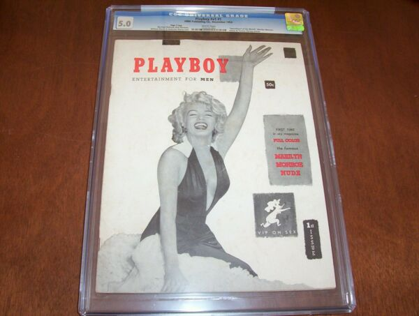 Playboys's Magazine #1 CGC 5.0 Page 3 Copy White Pages Rare!