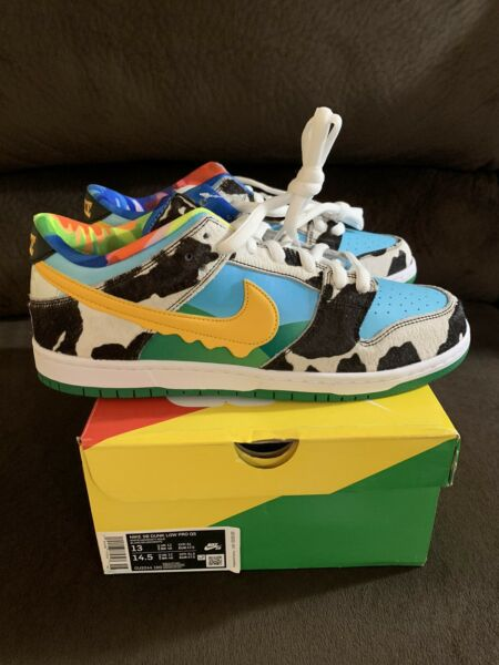Nike SB Dunk Low X Ben & Jerry's Chunky Dunky Size 13 DEADSTOCK!!!