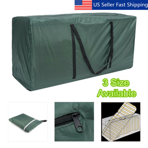 Outdoor Heavy Duty Garden Furniture Waterproof Cover Cushion Storage Bag Carry $27.05
