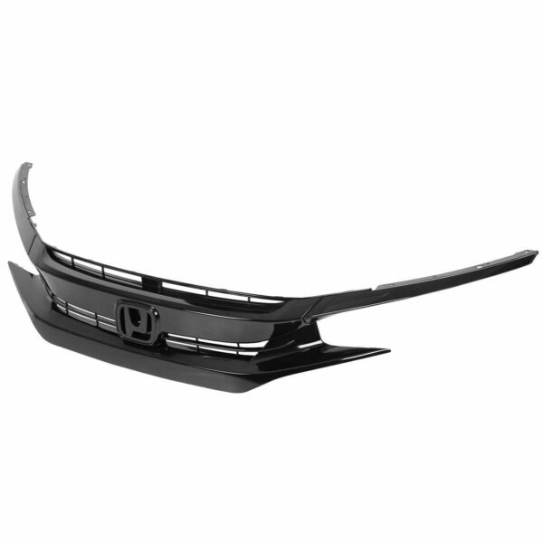 For 2016 2018 Honda Civic OE Style Front Bumper Grille Hood Mesh Grill Guards $64.25