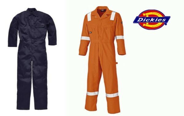 DICKIES DUPONT NOMEX FIRE RETARDANT LIGHTWEIGHT BOILER SUIT COVERALLS OVERALLS GBP 34.95