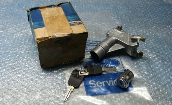 MK2 ESCORT RS2000 MEXICO GENUINE FORD NOS IGNITION LOCK ASSY WITH KEYS