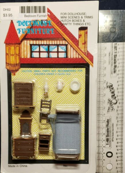 O/On3/On30/1/48/1:48 –  O Scale Bed Room Furnishings
