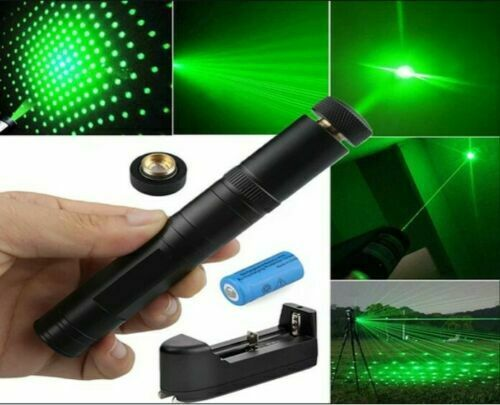 LASER POINTER SUPER USB PEN Cat Pet Toy Rechargeable Red UV Flashlight $7.25