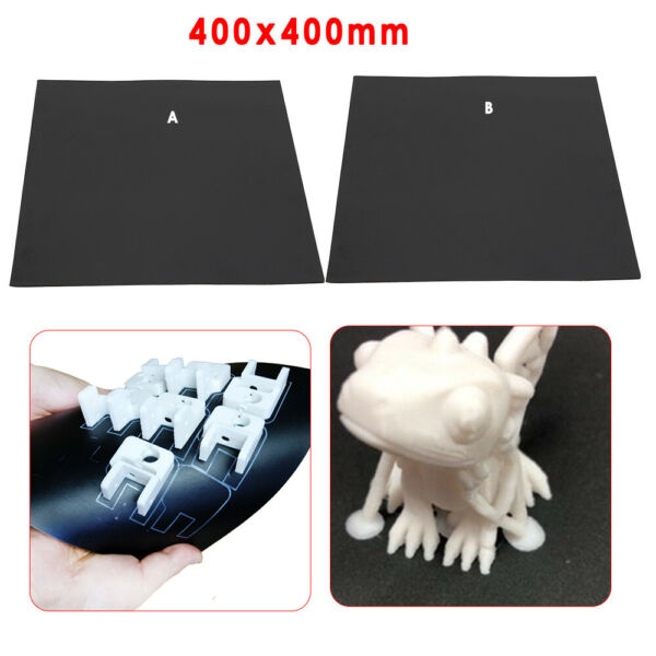 3D Printer Hot Bed Magnetic Sticker Square Mat 400x400mm for PLA ABS HIPS TPU $34.00
