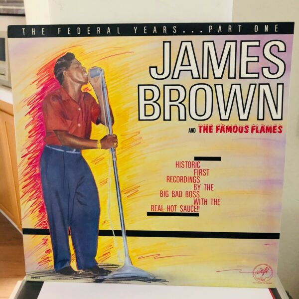 James Brown The Federal Years Part One Solid Smoke LP SS 8023 MINT