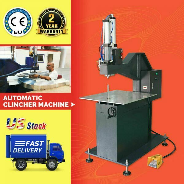 Automatic Clincher Machine for Metal Channel Letter Making Metalworking Riveting