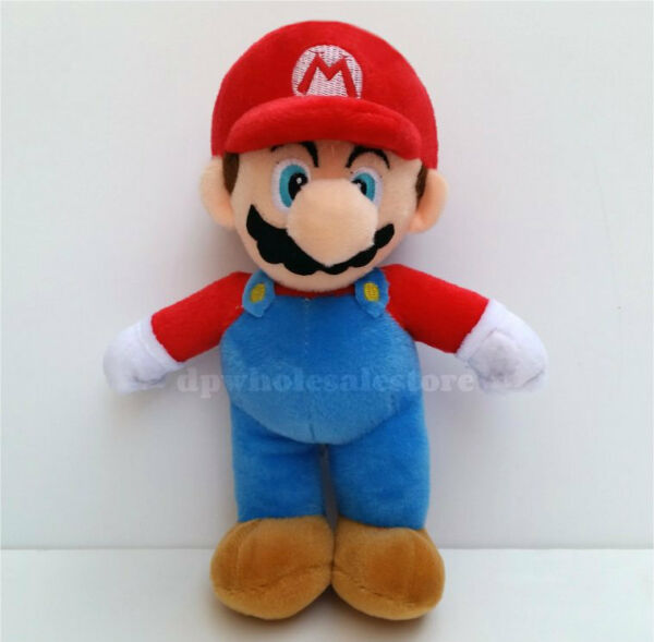New Super Mario Brothers Plush Doll Stuffed Animal Figure Toy 10quot;