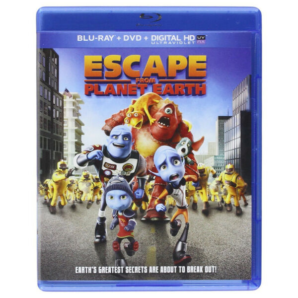 Escape From Planet Earth BluRay $8.87