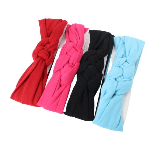 Twisted Cotton Headwrap Stretch Sports Fashion Gym Hair Band Wrap Womens