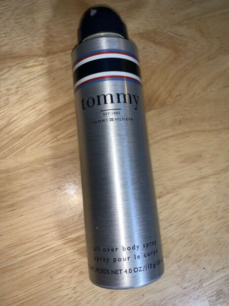 Tommy for men by Tommy Hilfiger All Over Body Spray 4.0oz 150ml NEW $16.99