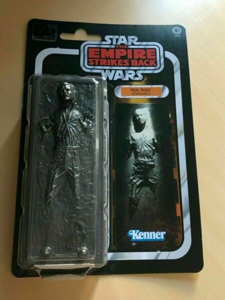 Star Wars The Black Series 6 Inch Han Solo Carbonite 40th Anniversary - IN HAND