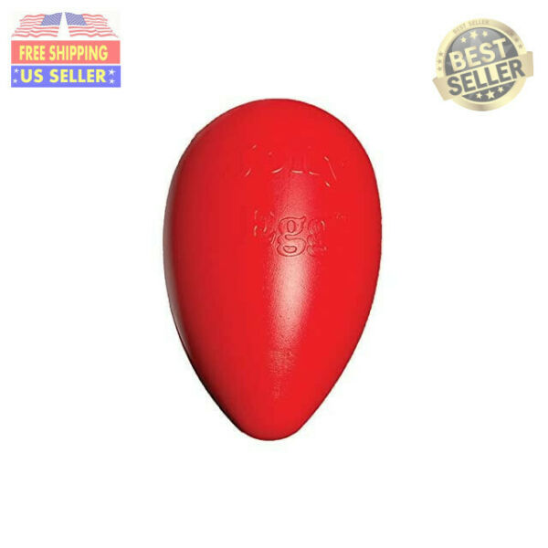 Jolly Pets Jolly Egg Dog Toy 12 InchesLarge Red $24.33