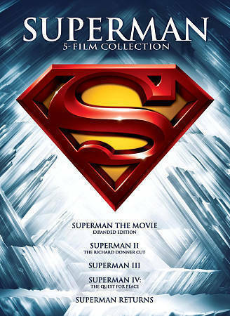 Superman: 5 Film Collection (DVD 2013 5-Disc Set) - NEW!! $5.99