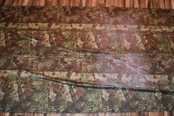 Realtree Camo Fabric 13 ft long x 5 ft wide bulk fabric vintage realtree