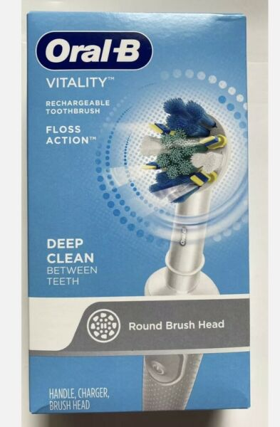 Oral B Vitality Dual Action Electric Rechargeable Toothbrush New Box $29.99