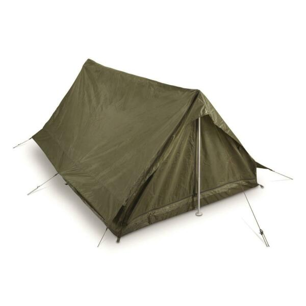 Genuine French Military Surplus F1 2 Person Combat Field Pup Tent Shelter NEW