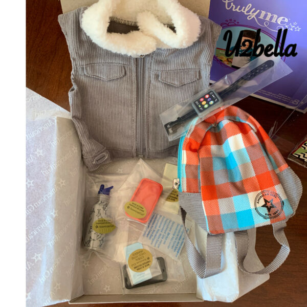 American Girl Casual amp; Cool Accessories for Boy Dolls 7475 NEW Meet $48.98