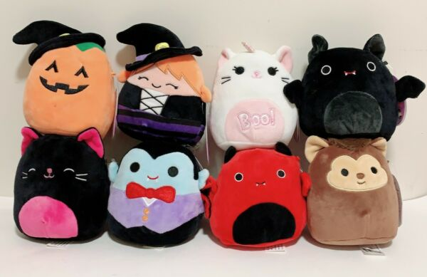 Squishmallows Kellytoy 2020 Halloween Collection 5quot; Mini Plush Doll
