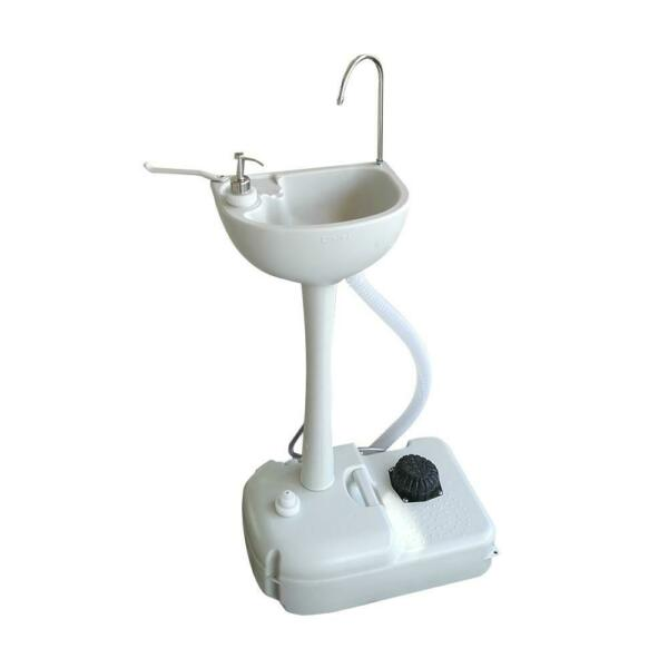 Portable Camping Sink Water Tank Wash Basin for Hiking RV Barber Kitchen Indoor $59.55