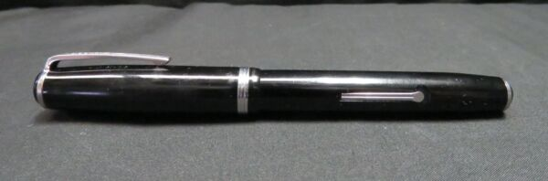 Vintage Black Esterbrook Fountain Pen Not Tested AS IS